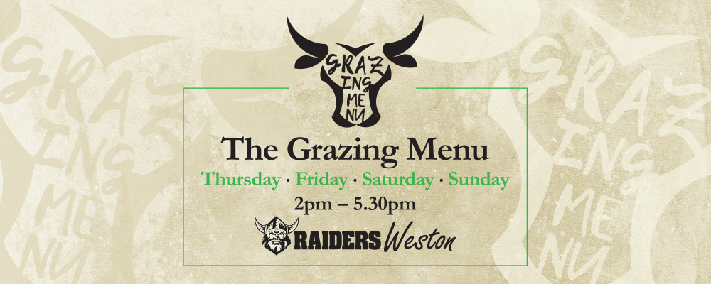 Grazing Menu